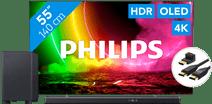 Philips 55OLED806 - Ambilight (2021) + Soundbar + HDMI-Kabel
