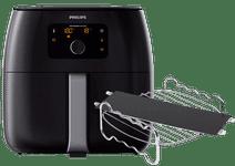 Philips Avance Airfryer XXL HD9650/90 + Kochgestell + Pfannenverteiler