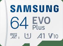 Samsung EVO Plus 64GB microSDXC UHS-I U3 130MB/s Full HD & 4K UHD Speicherkarte mit Adapte