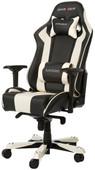 DXRacer KING Gaming Chair Schwarz/Weiß