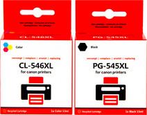 Pixeljet PG-545XL / CL-546XL Patronen Kombipack